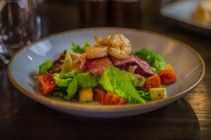 Prawn Salmon Salad 2