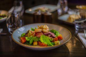 Prawn Salmon Salad