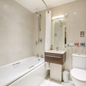 Room 205 Bathroom